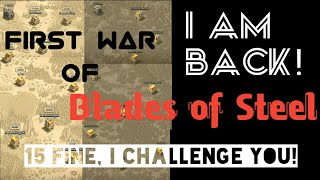 Clash of Clans: I am back! Blade of Steel First War! Collab with 15Fine! I am BH6!?!