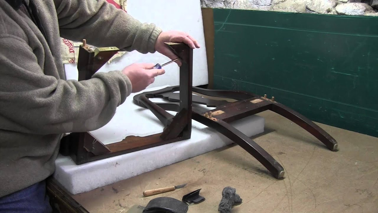 Upholstery How To Repair A Loose Chair Frame