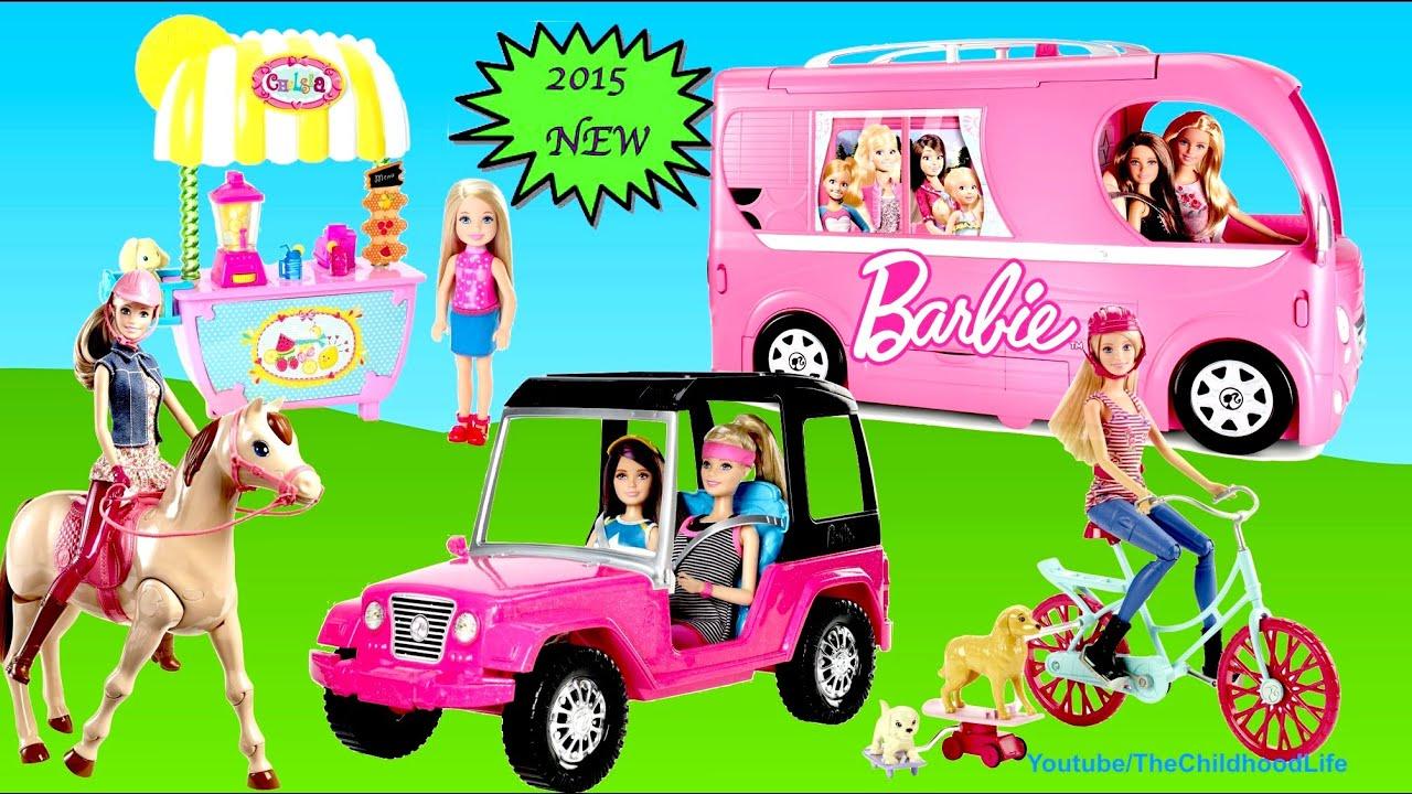 Barbie Pop Up Camper Barbie Best 2015 Hot Toys Compilation