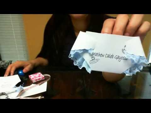 DIY Baby Shower DIAPER invitations EBAY template - YouTube - diaper invitation