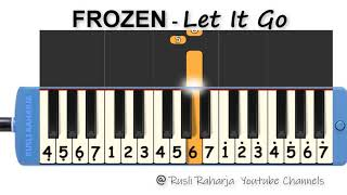 Frozen - let it go - not pianika