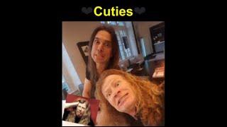 Megadeth Members Being Cuties