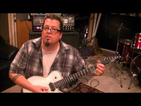 How to play Amaranth by Nightwish on guitar by Mike Gross