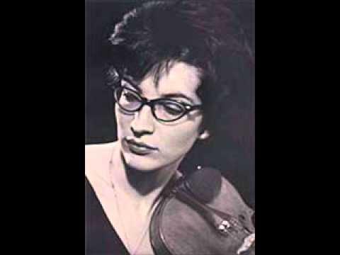 Suna Kan plays Ulvi Cemal Erkin Violin Concerto - 1st Mouvement