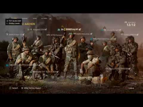 Call Of Duty WW2 Xbox One Beta [HD]