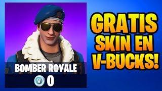 GRATIS SKIN + V-BUCKS! - Fortnite Battle Royale