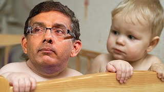 Dinesh D'Souza Throws Tantrum, Cries He's