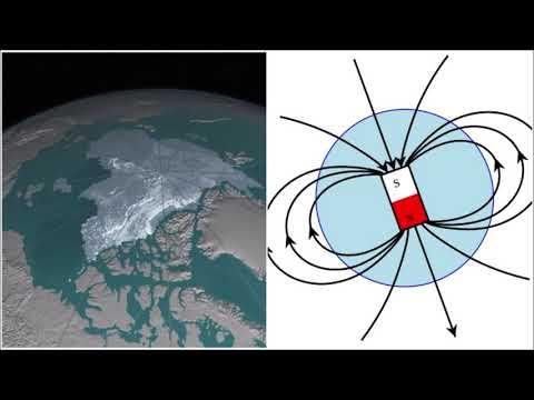 Раскрыта причина перемещения северного магнитного полюса в сторону России.