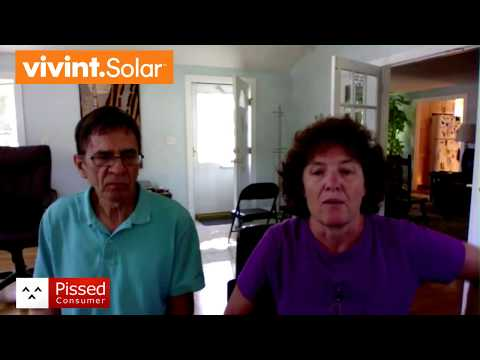 Vivint Solar - Worst company I have ever done business with @ Pissed Consumer Interview