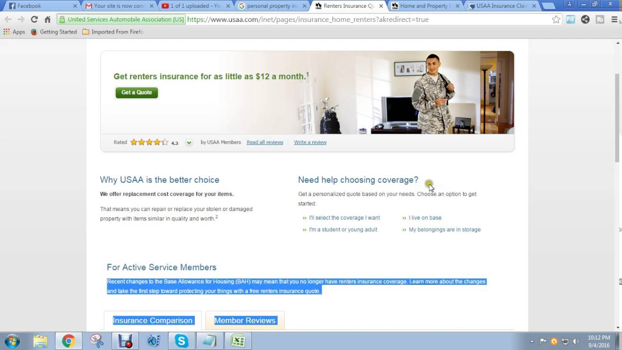 Assurant Renters Insurance Quote Renters Insurance  Youtube