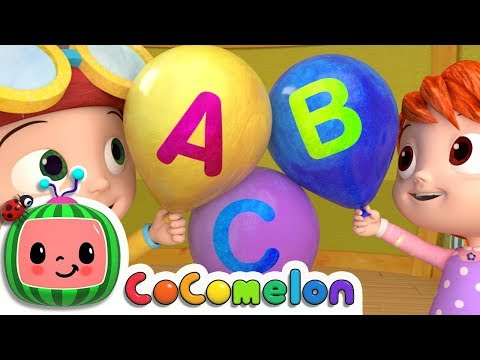 Thumbnail: ABC Song with Balloons - ABCkidTV