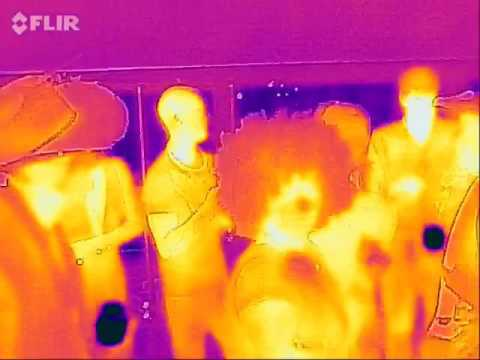 DJ Sabo and the Symmetry Labs light cubes by FLIR heat camera ...