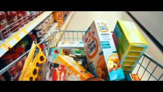 "Реклама ""Супермаркет Ермак"" (месяц скидок)."