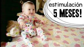 Actividades Bebé 5 meses - Estimulación Temprana | Early stimulation activities - 5 months