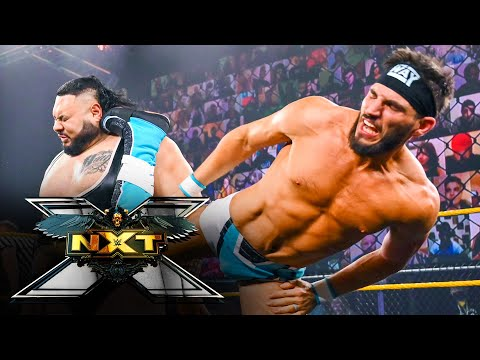 Blackheart, Moon, Reed & Lumis vs. The Way – Eight-Person Mixed Tag Match: WWE NXT, April 13, 2021
