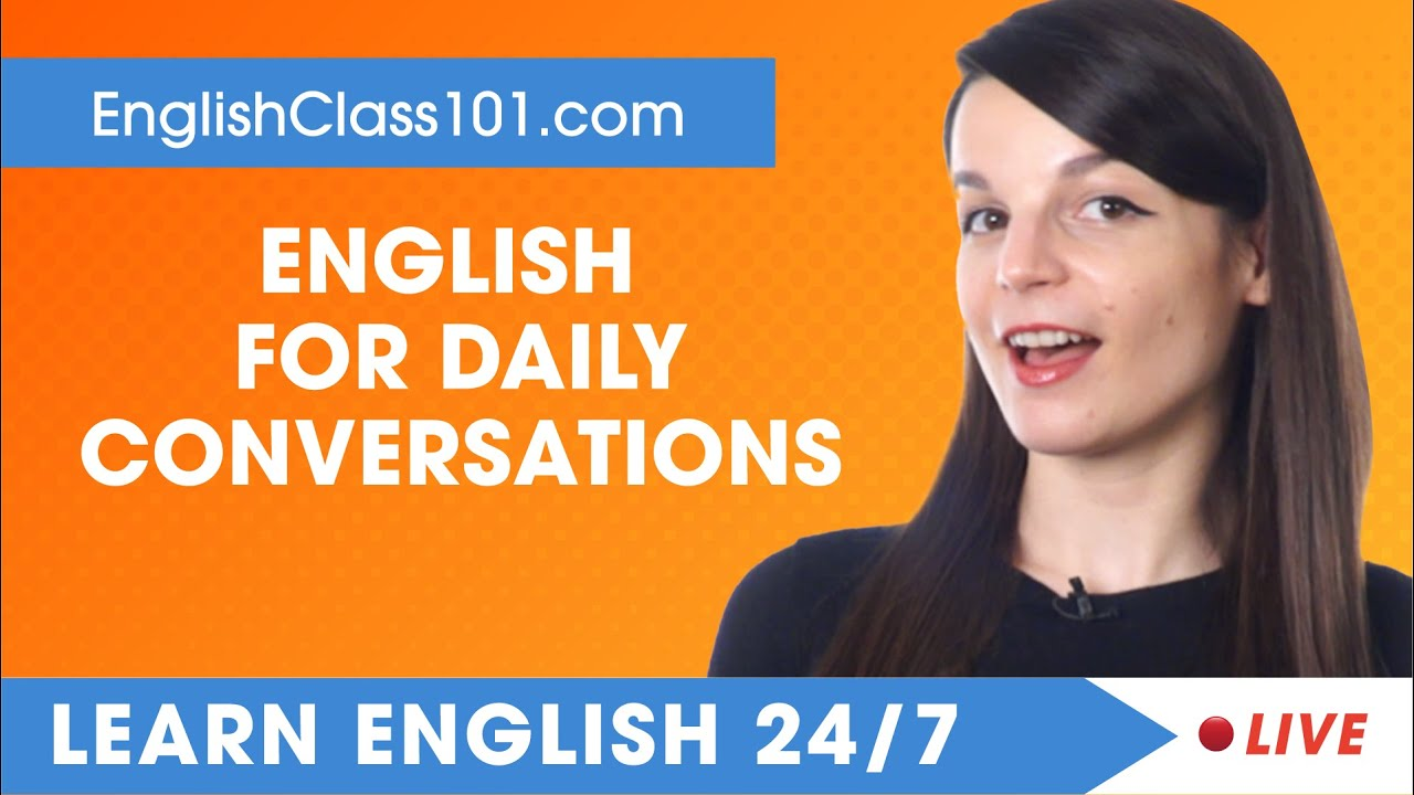 Download Learn English Live 24/7 🔴 English Speaking Practice - Daily Conversations  ✔