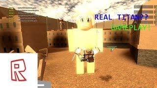 ROPE SWING!!! | Angriff auf Titan Roblox Gameplay