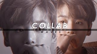 Bts | Art Au |  Waves [collab]