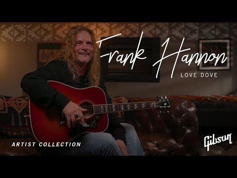 Frank Hannon: Love Dove Acoustic Guitar