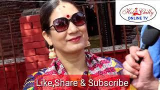 सम्मानित भए Ashik lama & Niraj Sunuwar( prem jodi)/ Hali Nepali film suvamuhurat Hotchilly Online tv