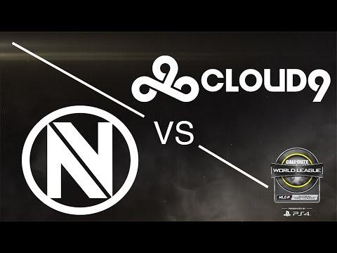 Team EnVyUs vs Cloud9 - CWL Global Pro League - Red Group - Day 3