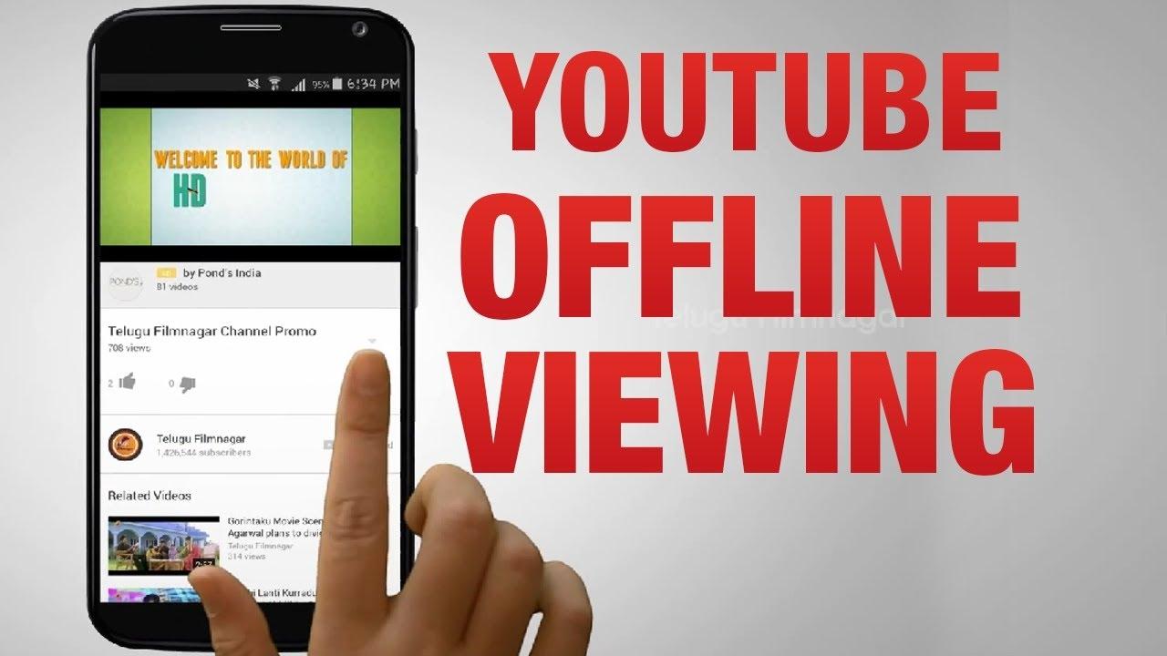 Watch Youtube videos Offline with Youtube Offline 2016 & 2017