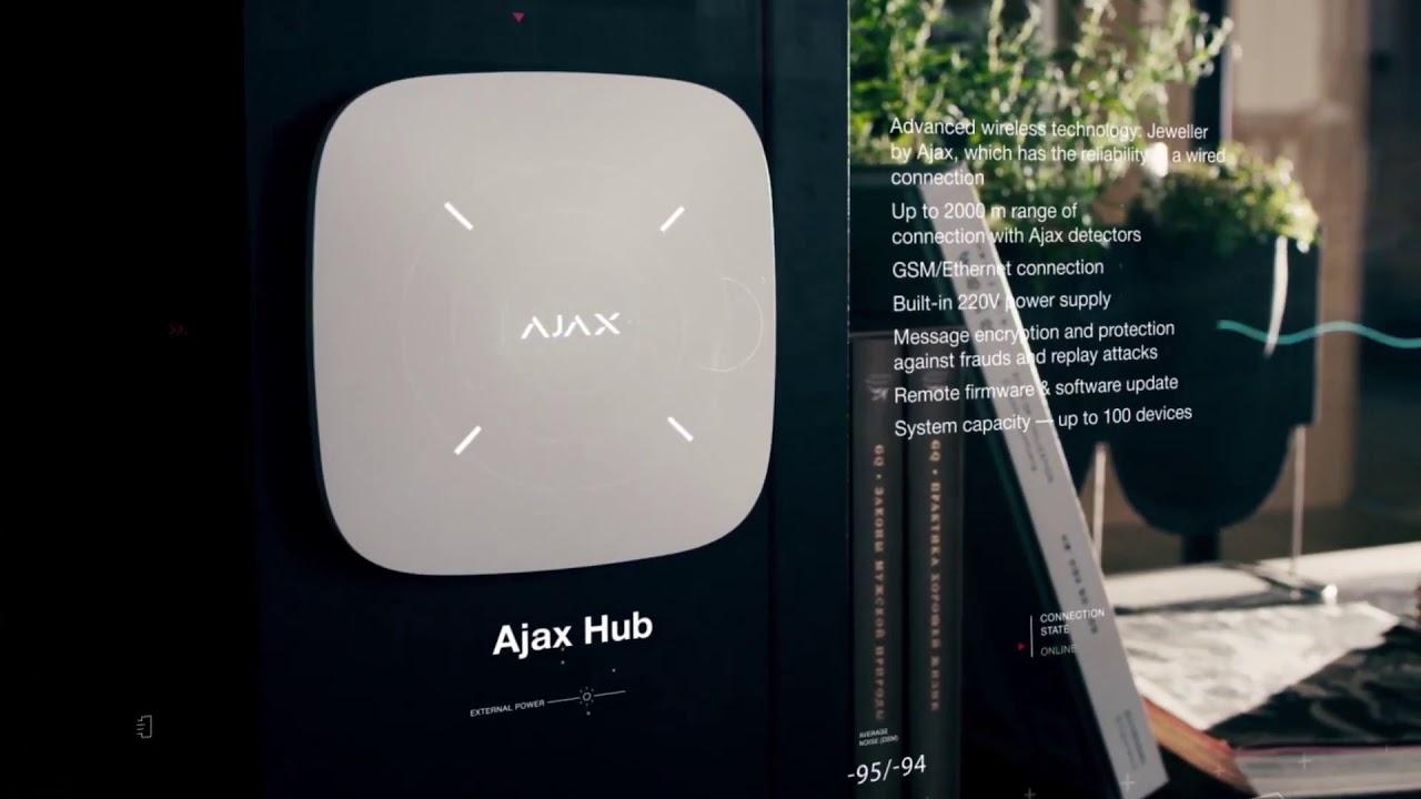 Ajax La nouvelle generation de systemes de securite sans fil hd