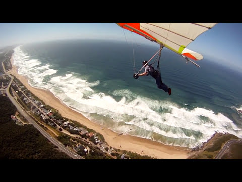 Hang Gliding in Wilderness - Day 11 - 1st Soaring flight