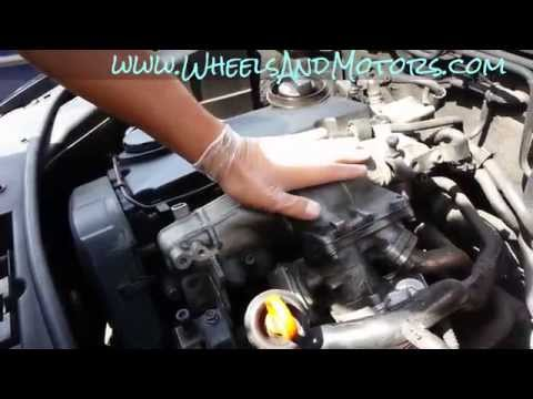 How to replace and clean EGR valve and intake manifold on 2.0 tdi Audi A6 (C6 4F)