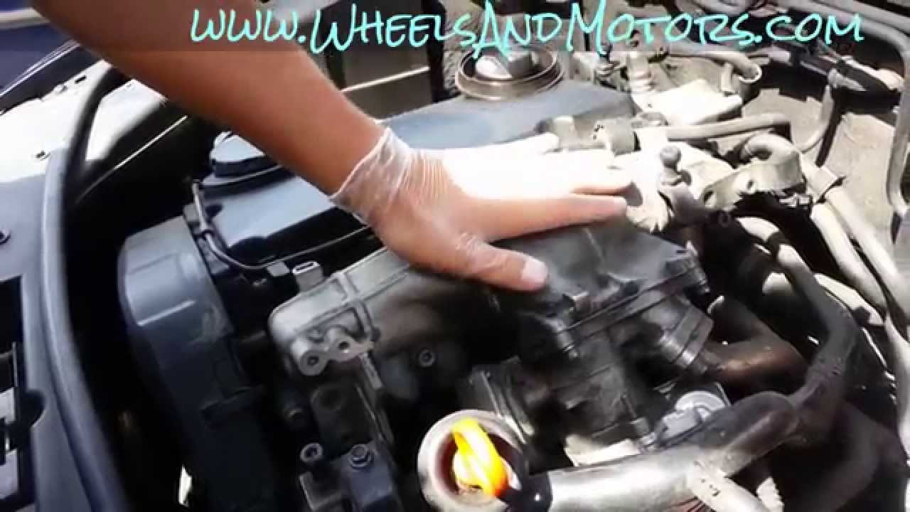 How To Replace And Clean Egr Valve And Intake Manifold On 20 Tdi