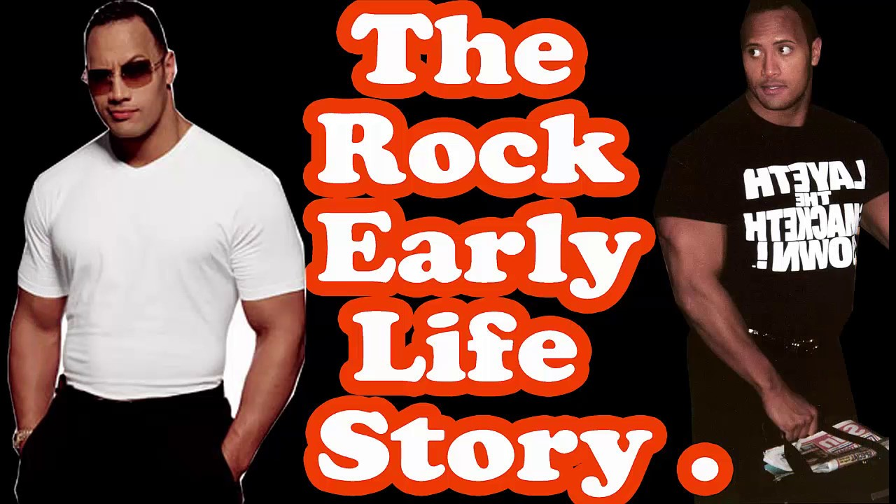 Dwayne Johnson S Life Story Biography Of The Rock Lifestyle Family Dwayne Johnson Success