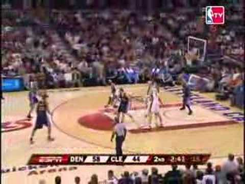 NBA Season - Denver Nuggets - Cleveland Cavaliers