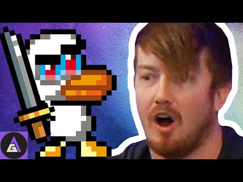 WHAT THE DUCK?! | DUCK GAME FOUR PLAY WITH SAM AND CHAD OF SCREWATTACK