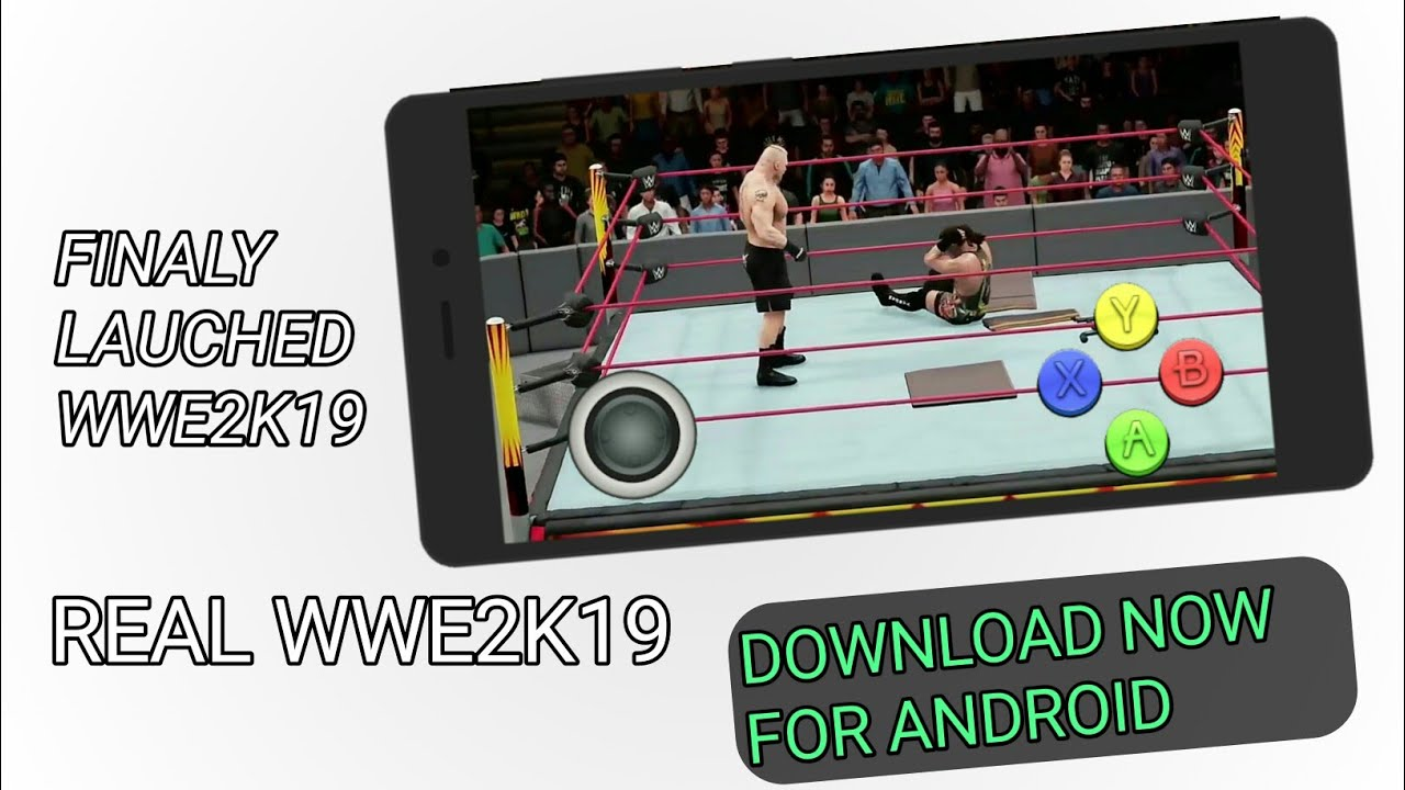 How To Download Wwe2k19 No Mod Play Offline Apk Obb Download Now100 Working Youtube