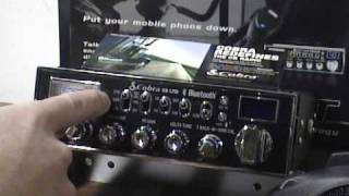 """Cobra 29 LTD BT Bluetooth Review *Part 1* """"Overview and Functions"""" CB Radio"""