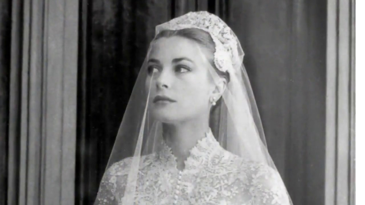 Grace Kelly The Most Beautiful Royal Wedding Dress Youtube