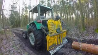 Zrywka drewna #5 (Ursus C360 i Uniforest 5,5t)