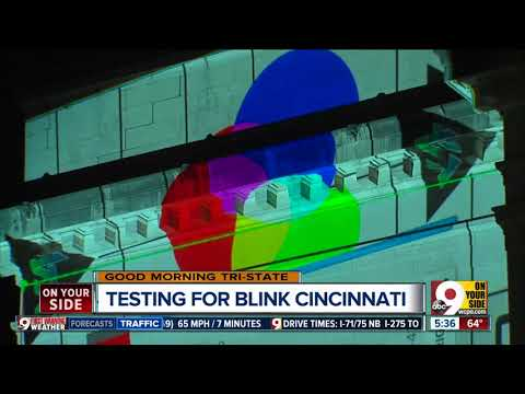 Cincinnati Blink four-day art and light festival raises dazzle Downtown