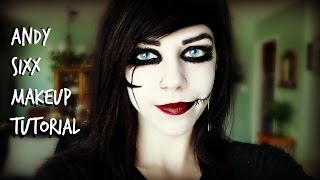 HOW TO: ANDY SIXX MAKEUP!!