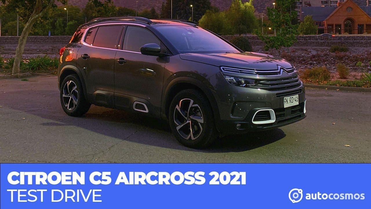 Probamos el Citroen C5 Aircross 2021
