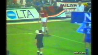 1988 October 6 AC Milan Italy 5 Vitosha Sofia Bulgaria 2 Champions Cup thumbnail