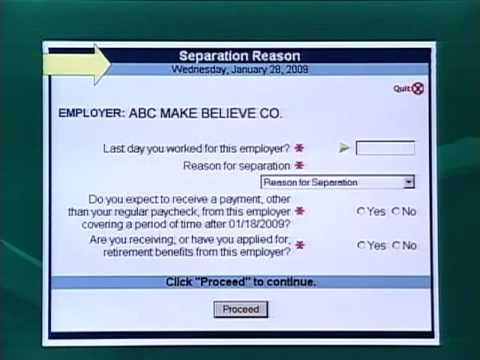 Filing Online Unemployment Claim in Michigan PART2