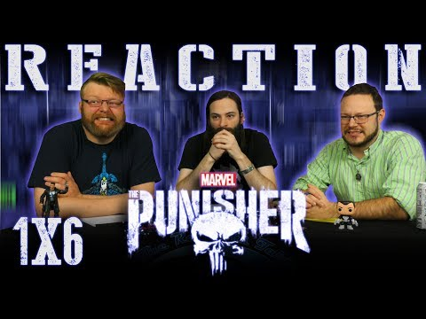 """Marvel's The Punisher 1x6 REACTION!! """"The Judas Goat"""""""