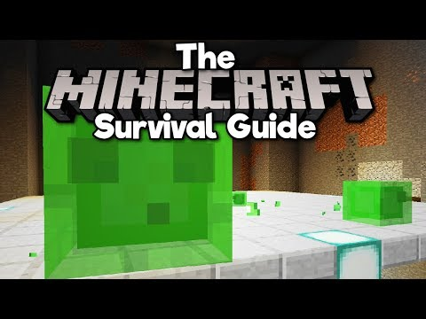 How To Build A Slime Farm! ▫ The Minecraft Survival Guide (Tutorial Lets Play) [Part 60] thumbnail