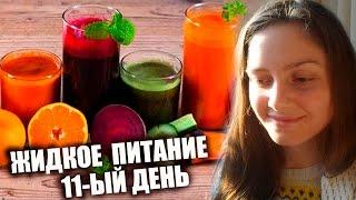 Жидкое Питание 11-ый день 🍹🌸 Смуси и Сокотерапия