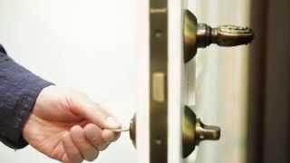 видео Дверные ручки с замком для межкомнатных дверей