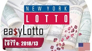 NY LOTTO numbers Feb 14 2018