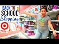 BACK TO SCHOOL SHOPPING 2017   TARGET SHOP WITH ME   Page Danielle