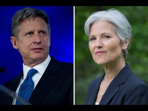 How You Can Get Gary Johnson & Jill Stein In The Debates