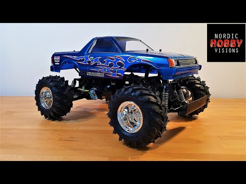 Tamiya Mud Blaster II 2WD 1/10 Classic Monster Truck Build Update... and the WT-01 & WR-01 Chassis!